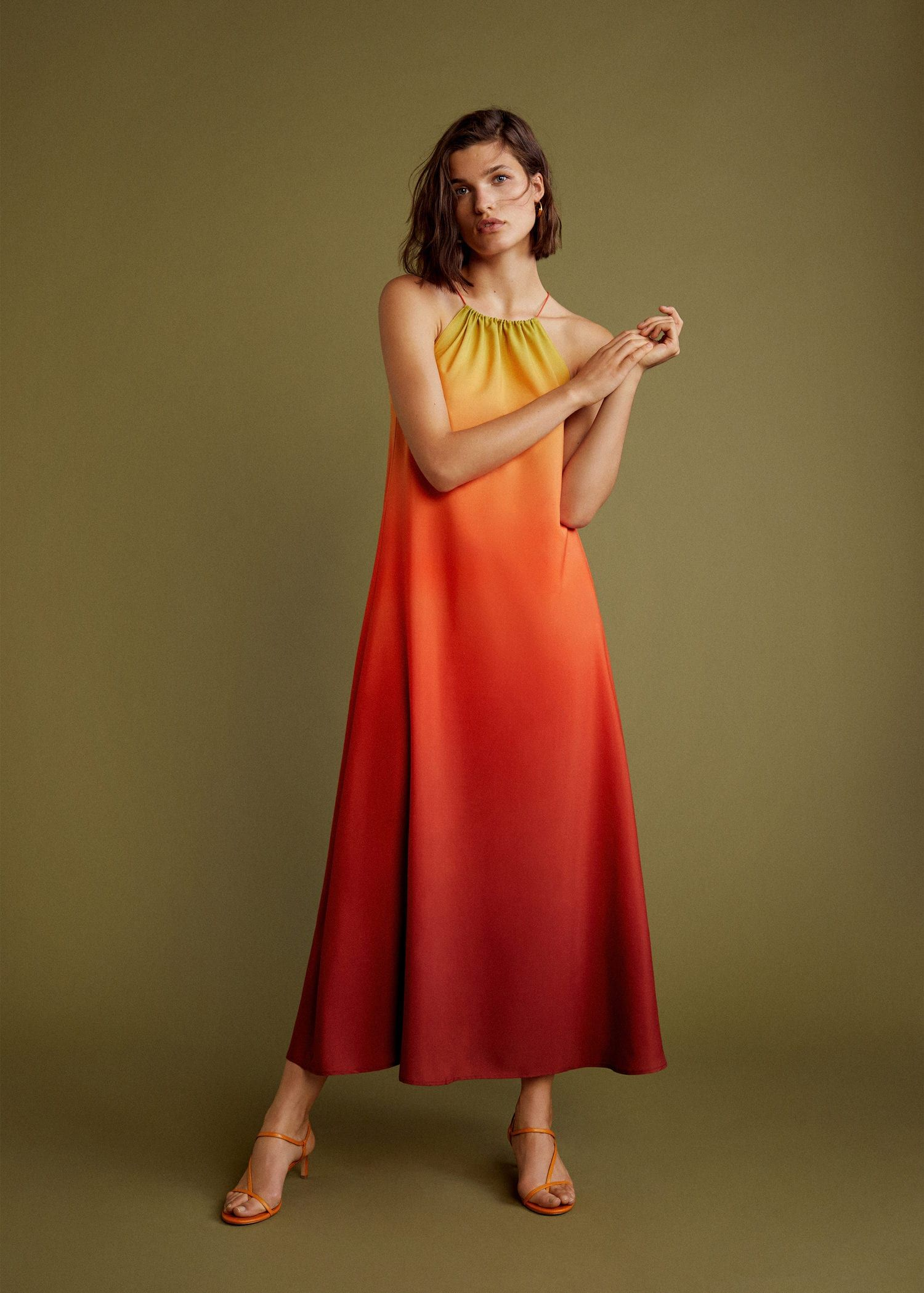 This sell-out Mango dress is available to buy again