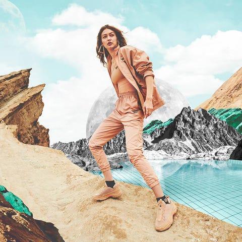 Colección Reebok x Gigi Hadid