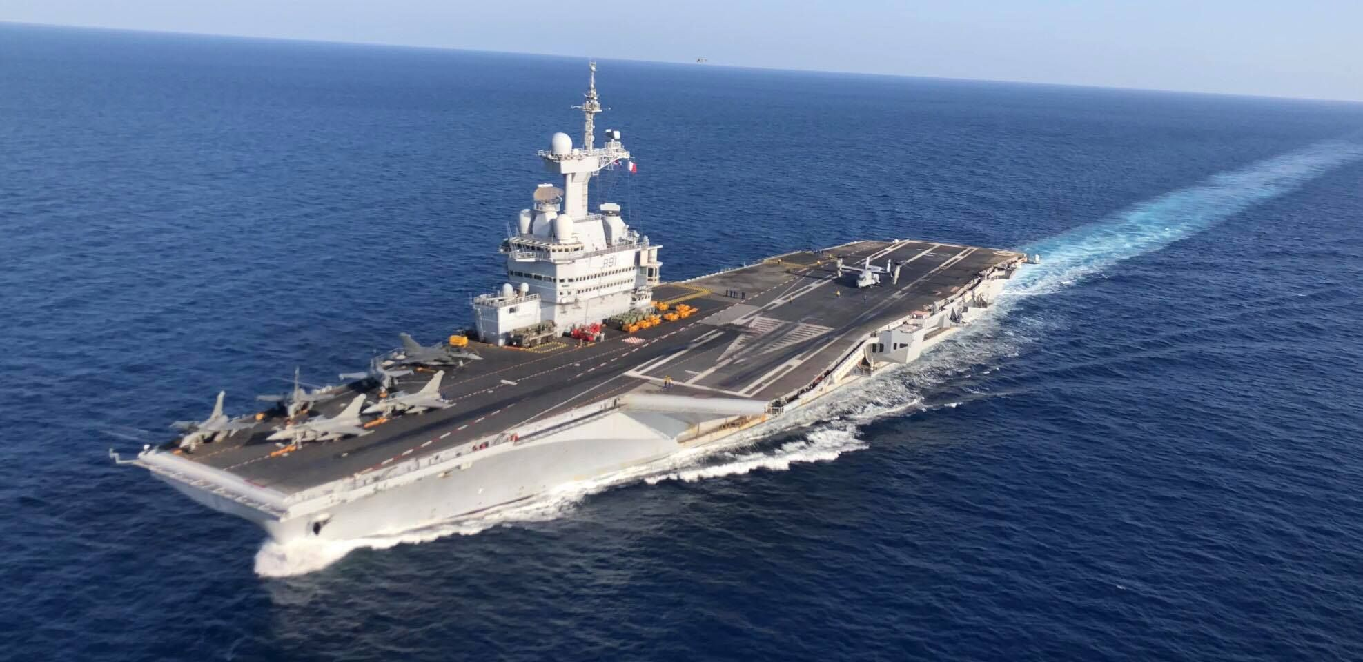France's Next-Gen Aircraft Carrier Begins To Take Shape