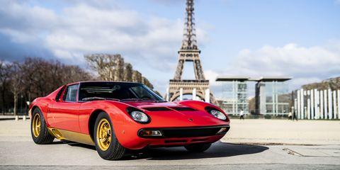 Lamborghini Restored Fia President Jean Todt S Miura Sv