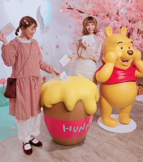 Pink, Yellow, Cartoon, Room, Child, Illustration, Animation,