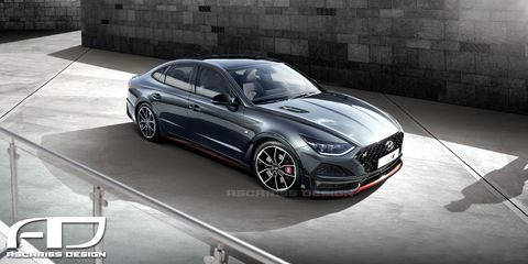 Used Hyundai Veloster >> Hyundai Confirms 275-HP Sonata N-Line Variant