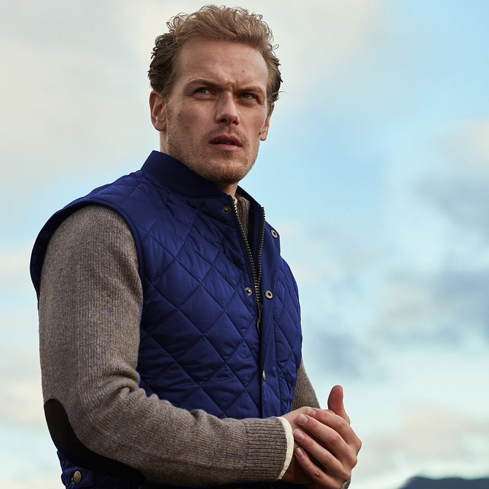 Outlander Star Sam Heughan's New Collection for Barbour Will Make You Wish for Warmer Weather
