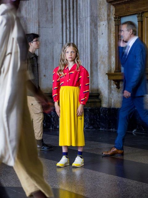 Yellow, Outerwear, Temple,
