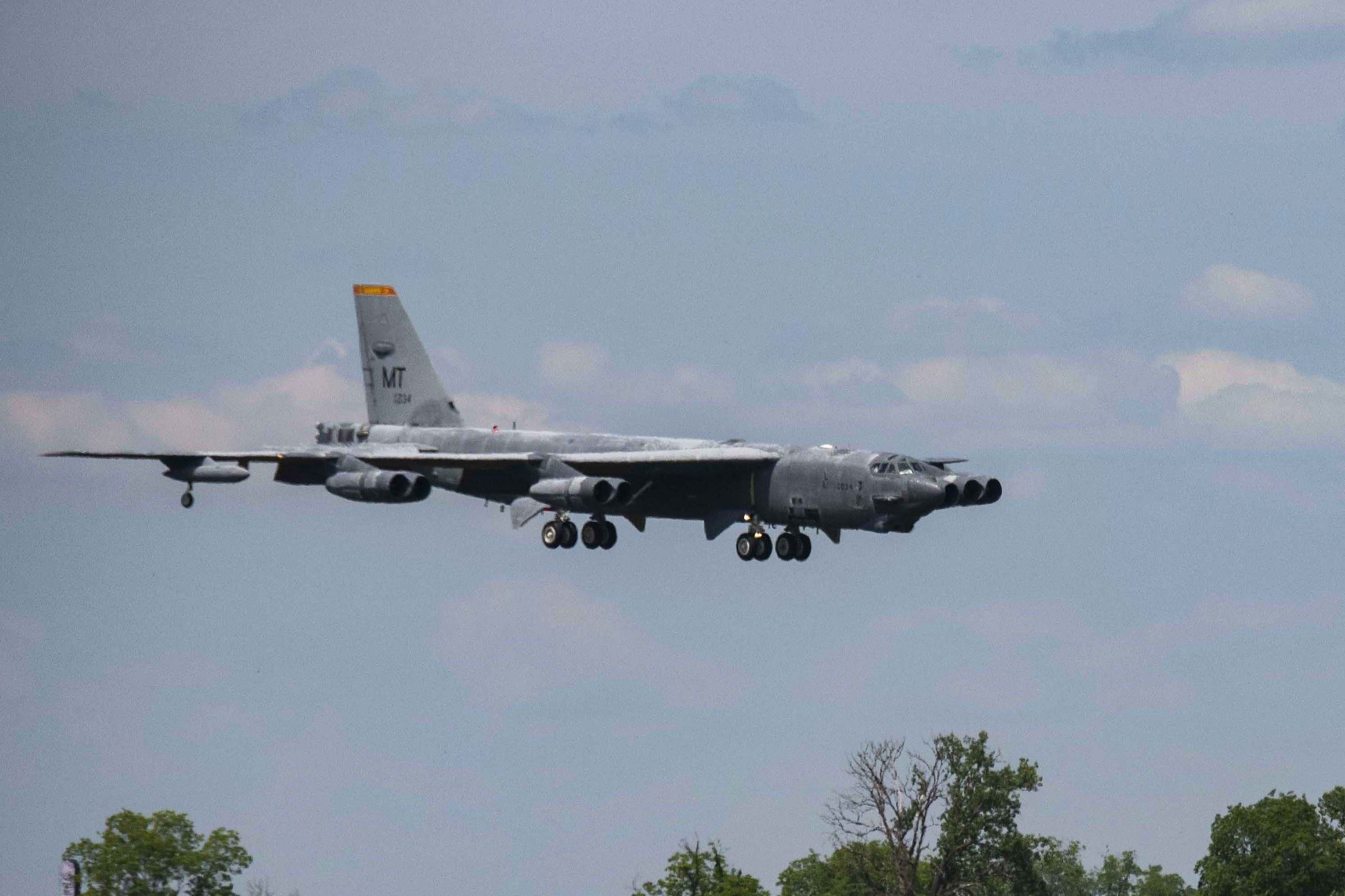 The Air Force Resurrects Another B-52 From the Boneyard