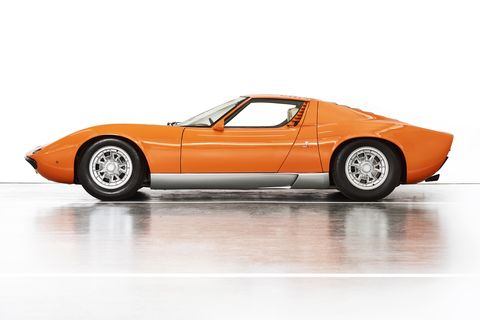 This Is The Italian Job Lamborghini Miura