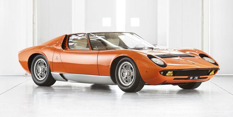 Lamborghini Miura From The Italian Job Restored By Polo Storico