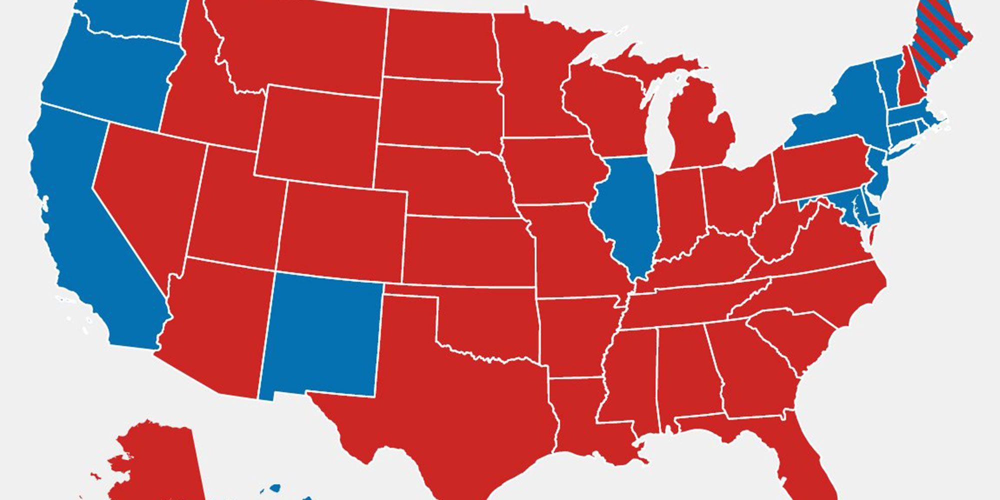 Image result for electoral map with only men 538