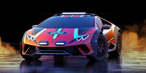 Land vehicle, Vehicle, Car, Supercar, Sports car, Automotive design, Sports car racing, Lamborghini, Lamborghini aventador, Light,