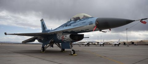 This F-16's New Paint Job Looks Like a Russian Superfighter