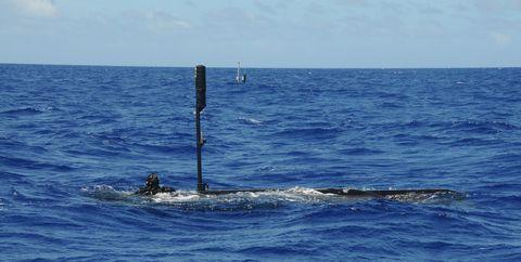 Sea, Ocean, Water, Wave, Wind wave, Submarine, Vehicle, Watercraft,