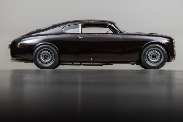 check out this 1954 lancia b20 with a chopped top