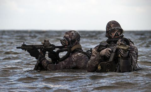 military dive operations