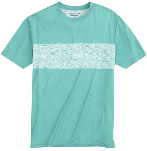 T-shirt, Clothing, Aqua, Active shirt, Sleeve, Turquoise, Green, Teal, Turquoise, Pocket,