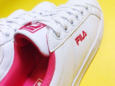 White, Footwear, Red, Shoe, Pink, Yellow, Sneakers, Walking shoe, Athletic shoe, Carmine,