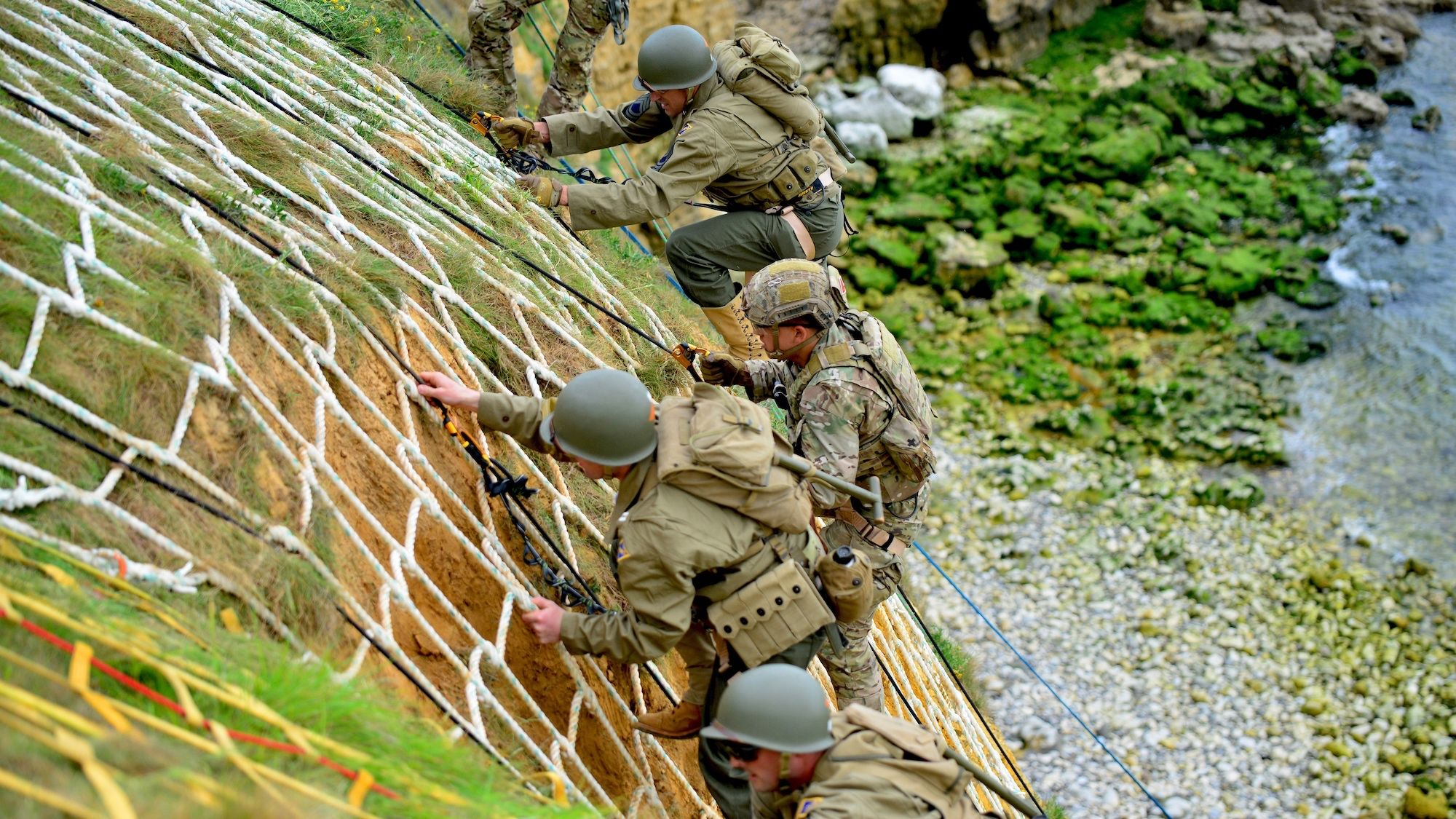 Watch U.S. Army Rangers Scale The Same Cliff Their Forebears Did on D-Day