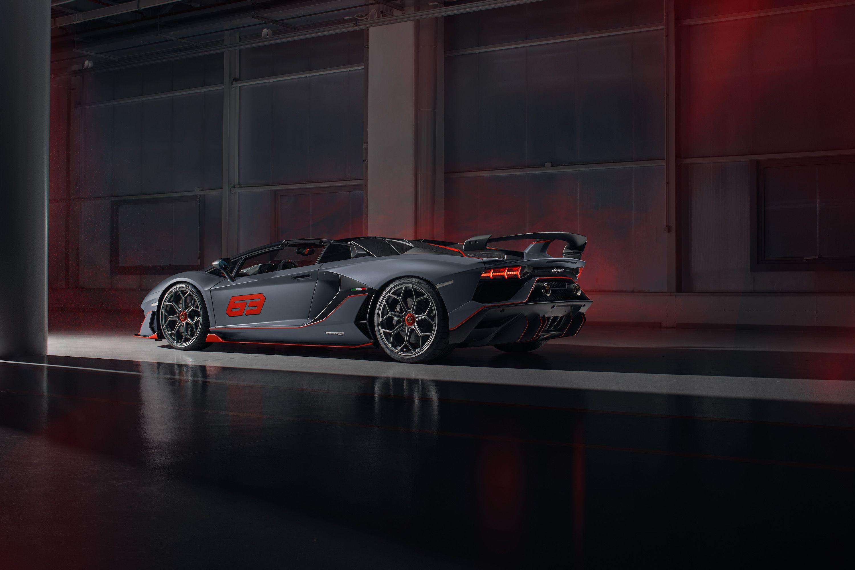 The Aventador SVJ 63 Roadster Is the Ultimate Open-Top V-12 Lamborghini