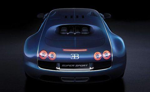 Bugatti Veyron Super Sport NACA Duct Intakes