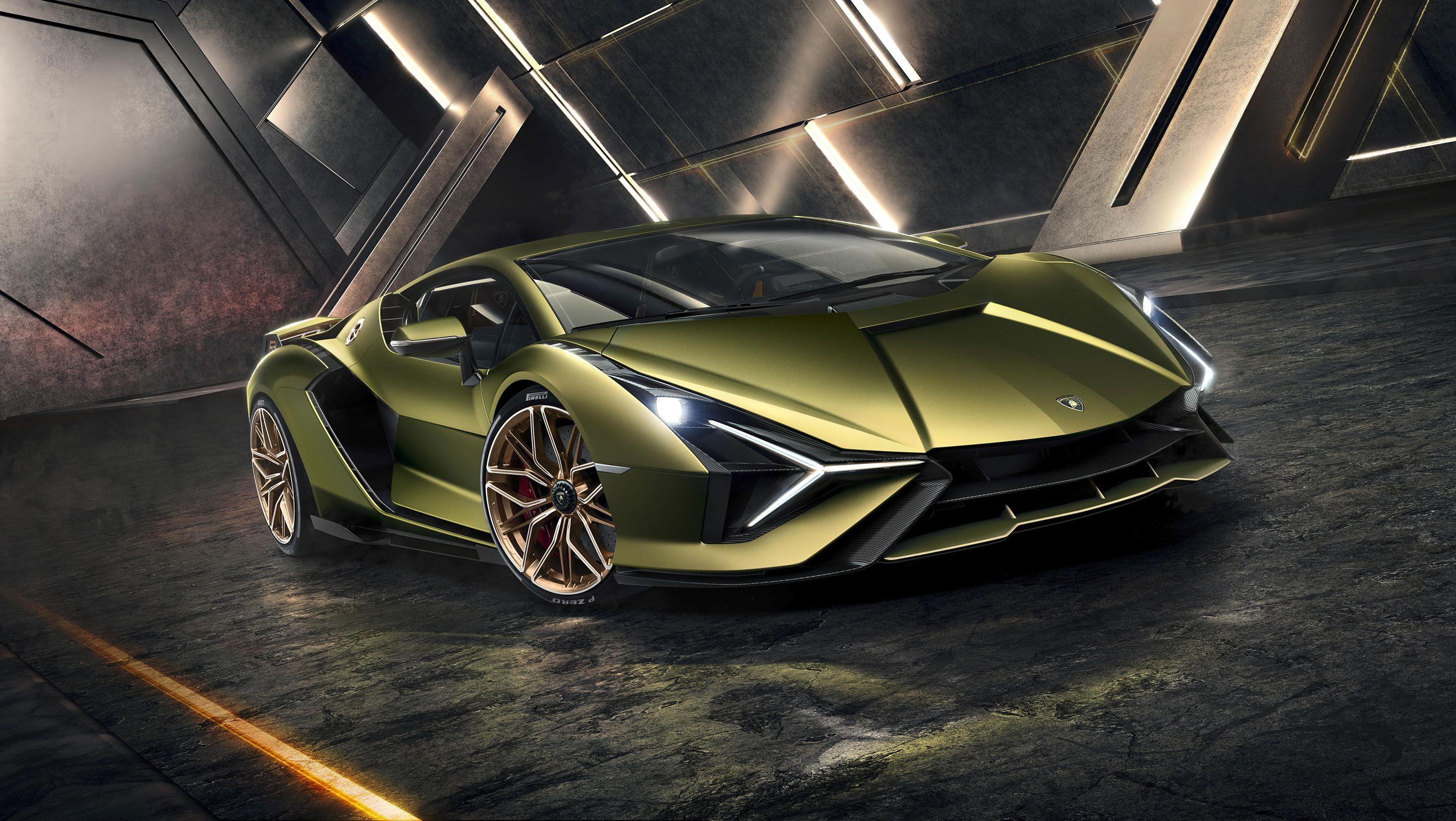 2020 Lamborghini Sián V,12 Hybrid Hypercar Revealed