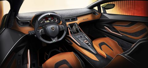 Land vehicle, Vehicle, Car, Automotive design, Center console, Steering wheel, Gear shift, Sports car, Supercar, Personal luxury car,