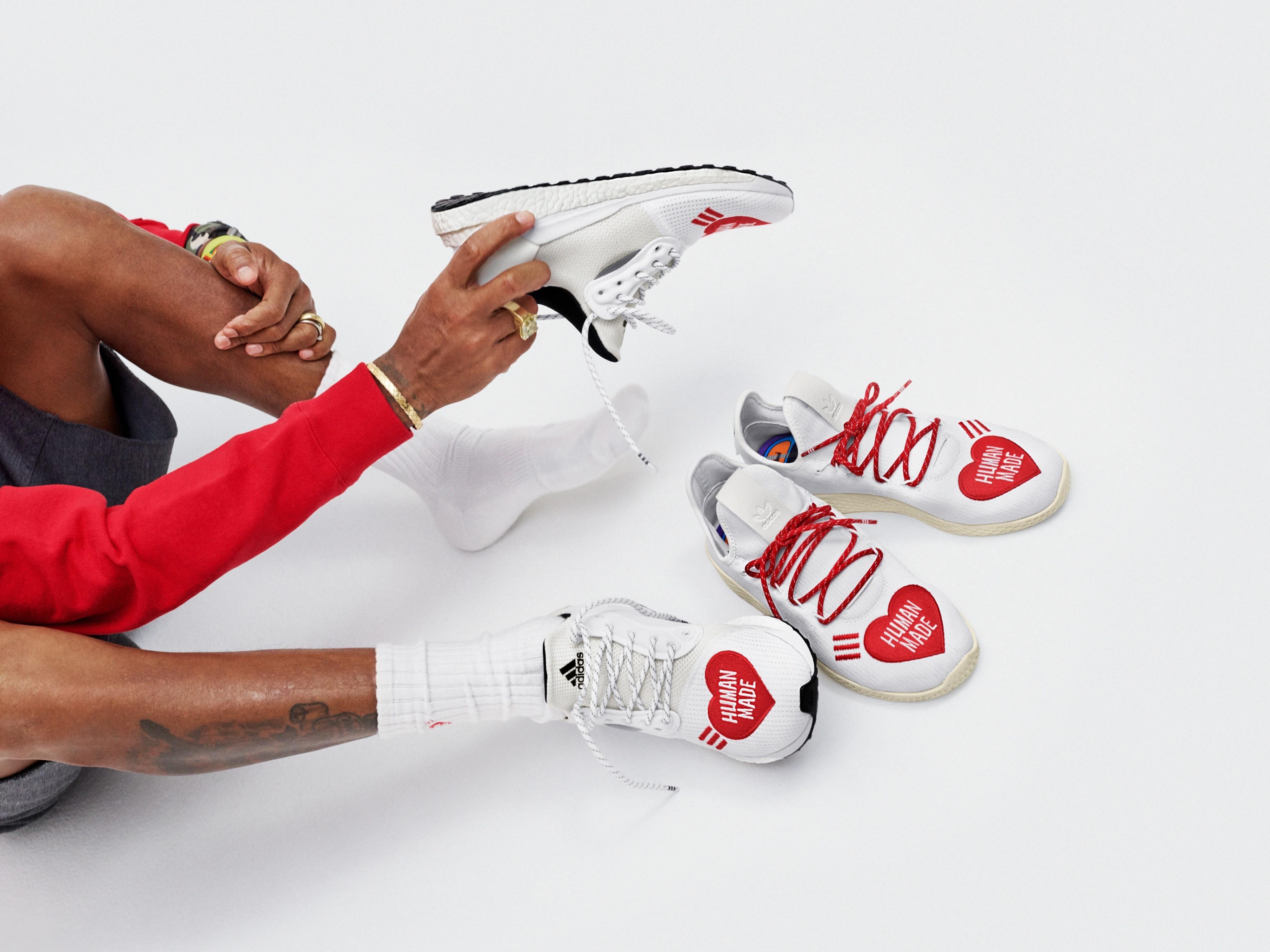 Adidas, Pharrell Williams y la colección de zapatillas con