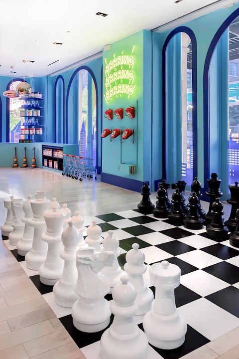 Games, Chess, Indoor games and sports, Recreation, Chessboard, Room, Architecture, Leisure, Interior design, Building,