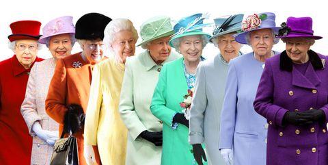 queen elizabeth rainbow