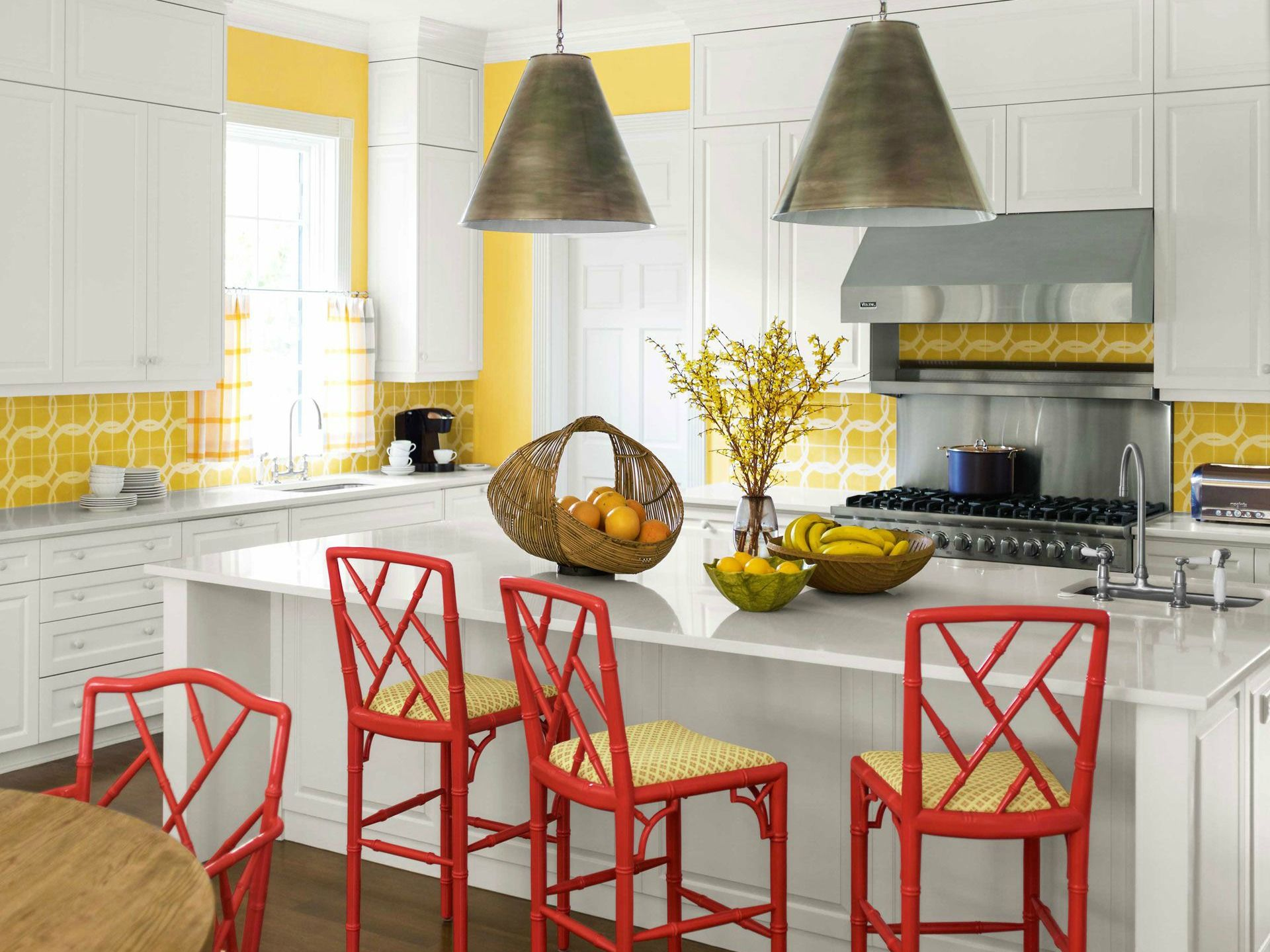 10 Yellow Kitchens That Ll Make You So Hy