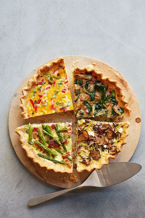 high protein breakfast ideas   quiche with spinach