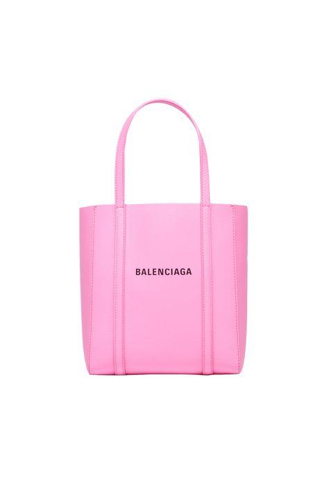 Handbag, Bag, Pink, Tote bag, Product, Fashion accessory, Magenta, Material property, Luggage and bags, Shoulder bag,