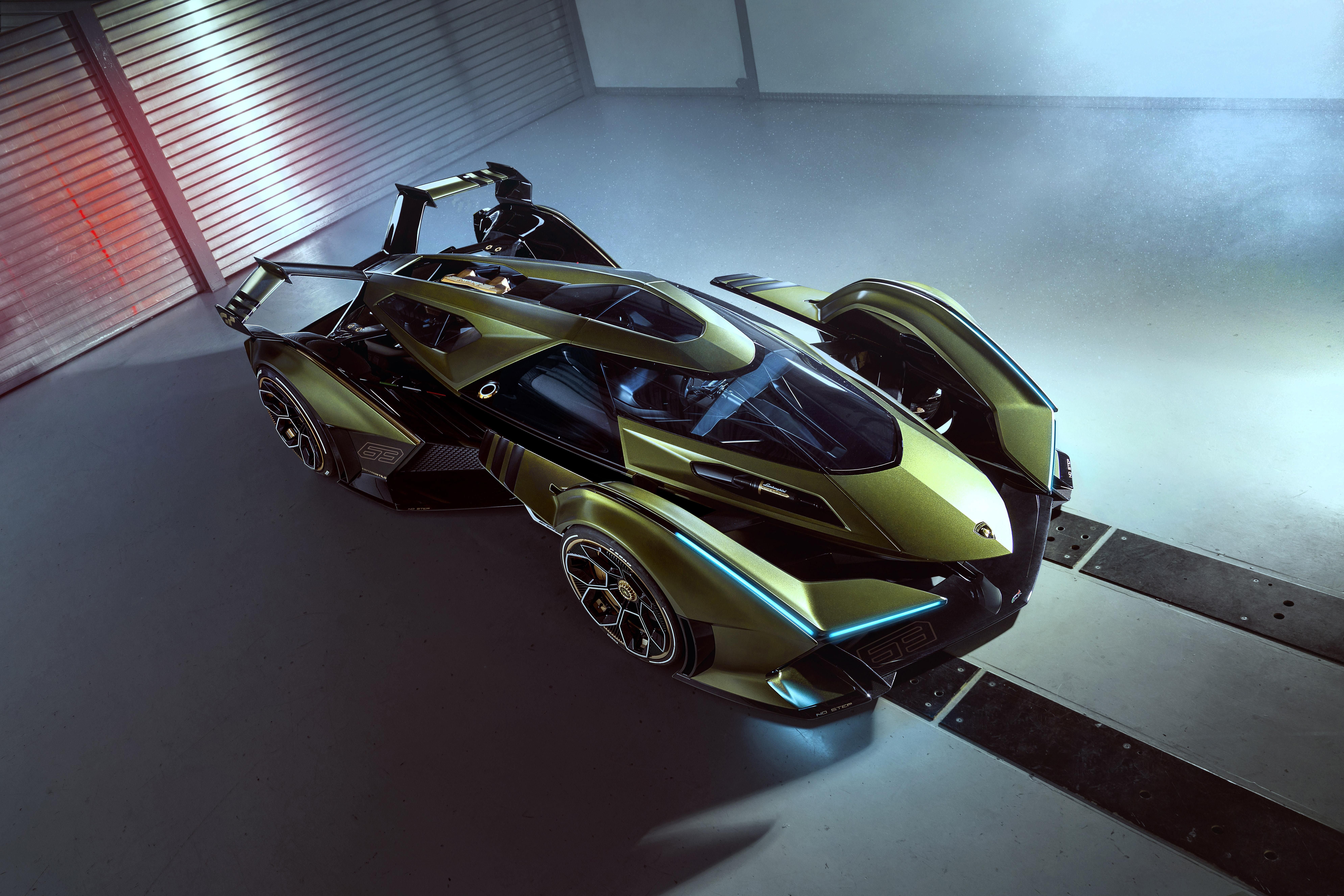 Lambo V12 Vision Gran Turismo Concept Is Basically a Fighter Jet