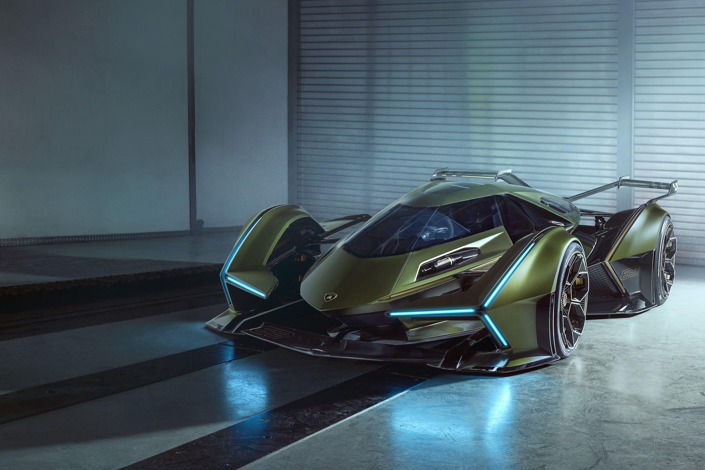 Lamborghini V12 Vision Gran Turismo Concept Hybrid Single,Seater