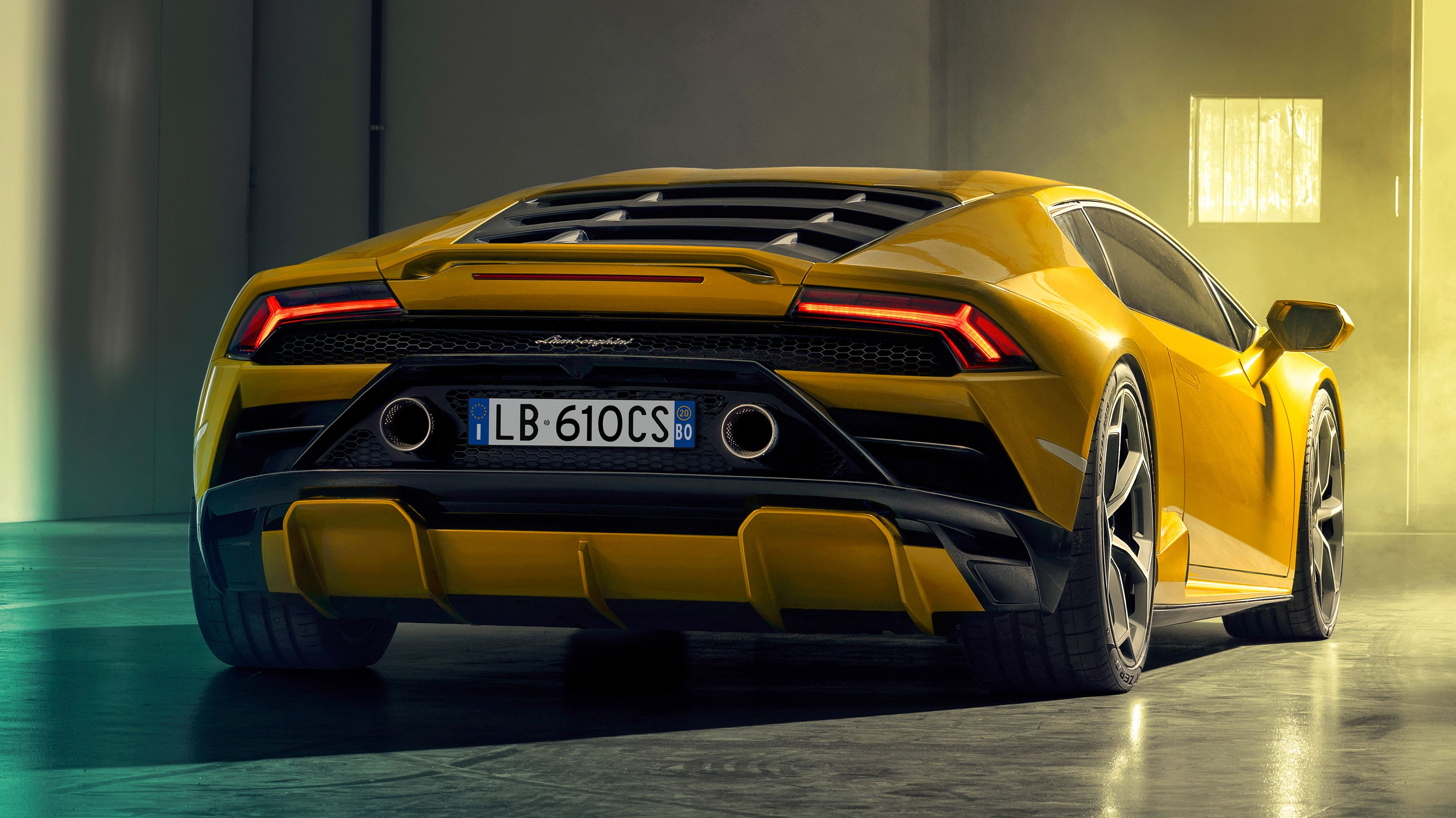 The Lamborghini Huracan Evo Finally Puts the Power Where It's Supposed to Be