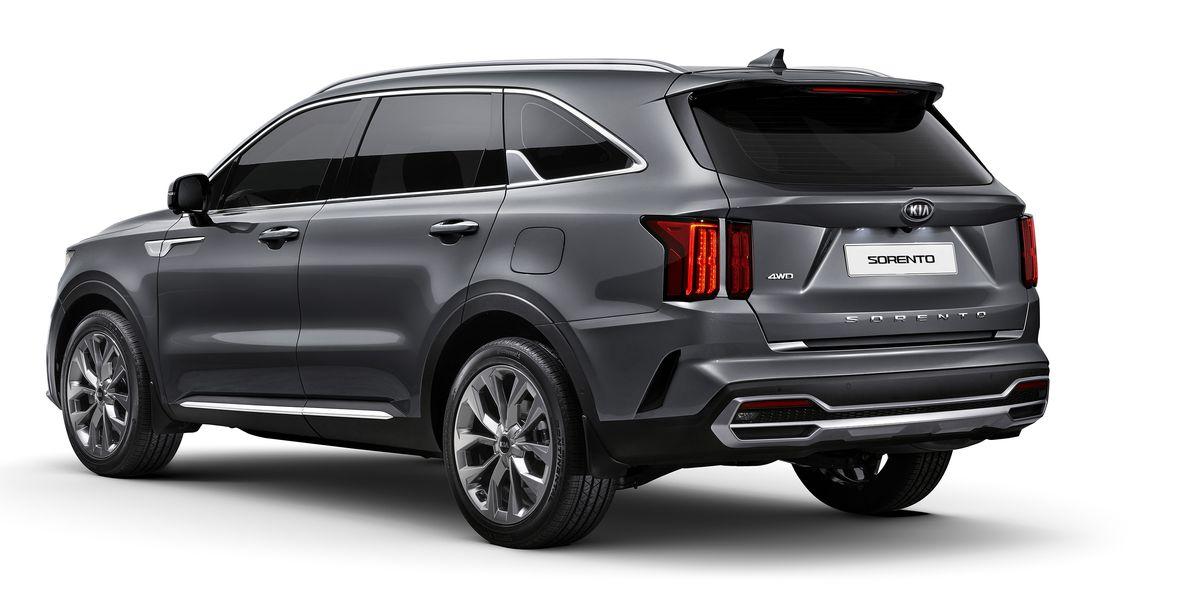 2021 Kia Sorento Revealed with Upscale Interior
