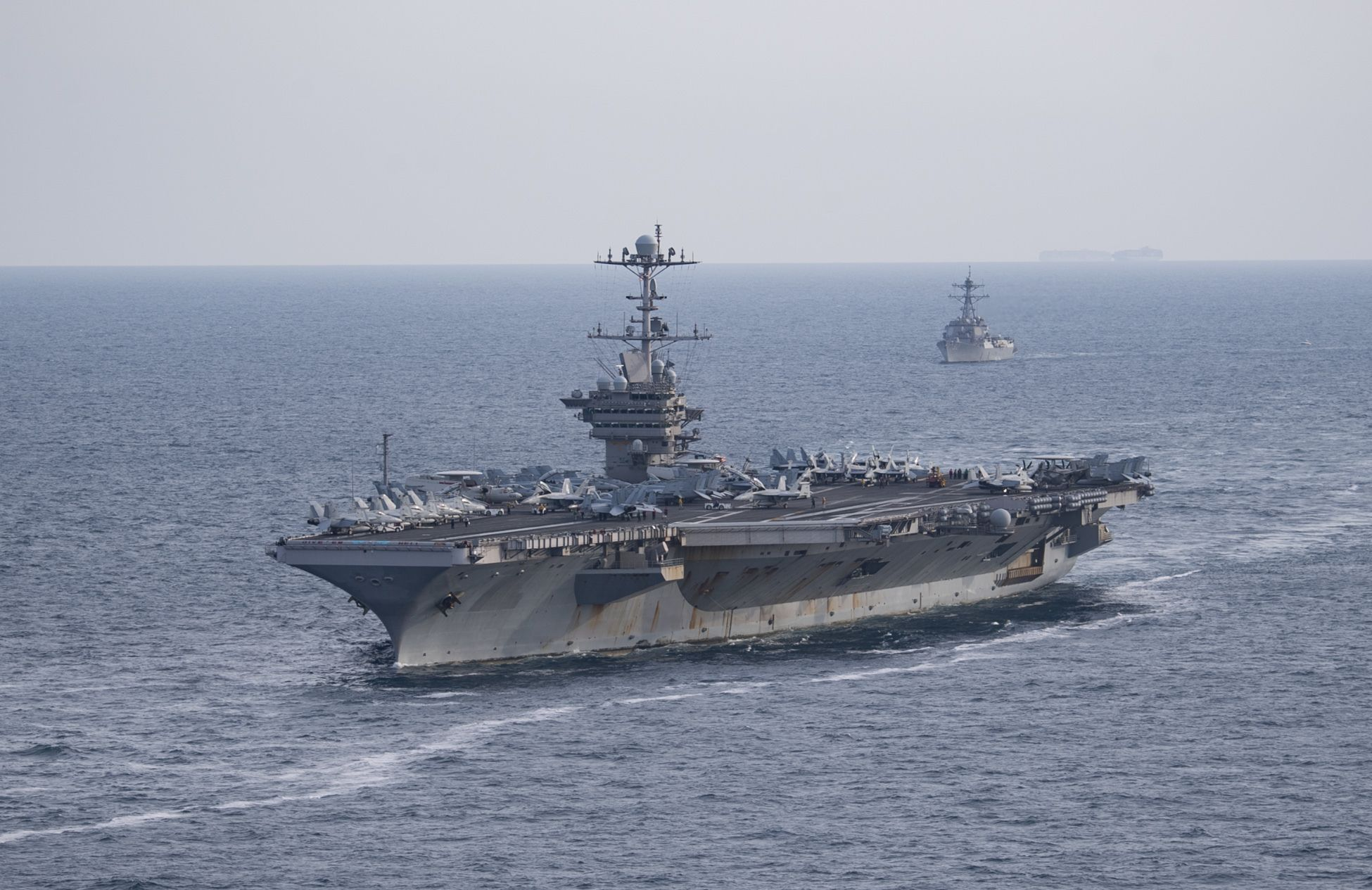 A U.S. Navy Carrier Strike Group is Deploying—Without the Carrier