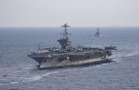 USS Harry S Truman News | Navy Carrier Group News