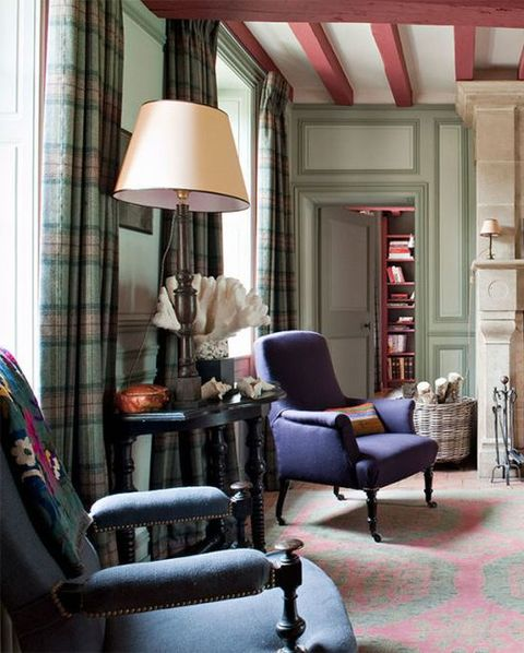 Best Tartan Interiors 2 - Elle Decor
