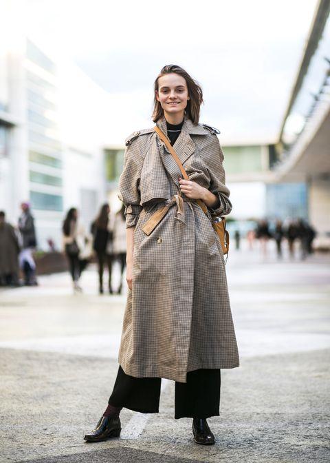 Street fashion, Clothing, Photograph, Fashion, Snapshot, Coat, Fashion model, Outerwear, Footwear, Trench coat,