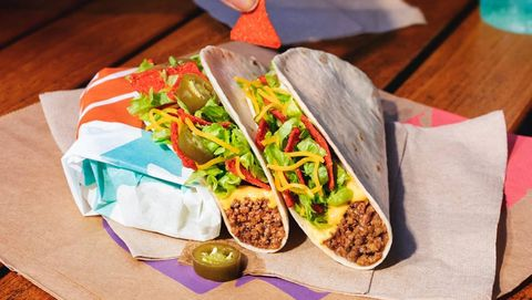 Food, Dish, Taco, Cuisine, Sandwich wrap, Ingredient, Fast food, Sandwich, Comfort food, Meal,