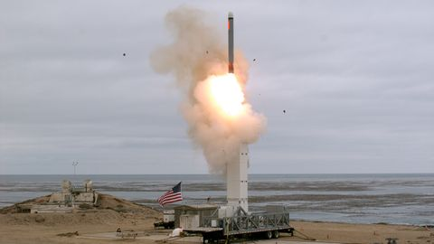 DOD Conducts Ground-launched Cruise Missile Test