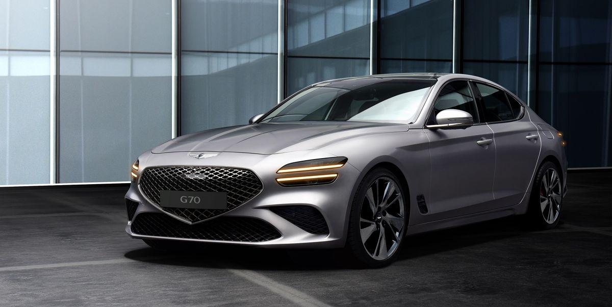 2022 Genesis G70 Gets the Same Good Looks as G80