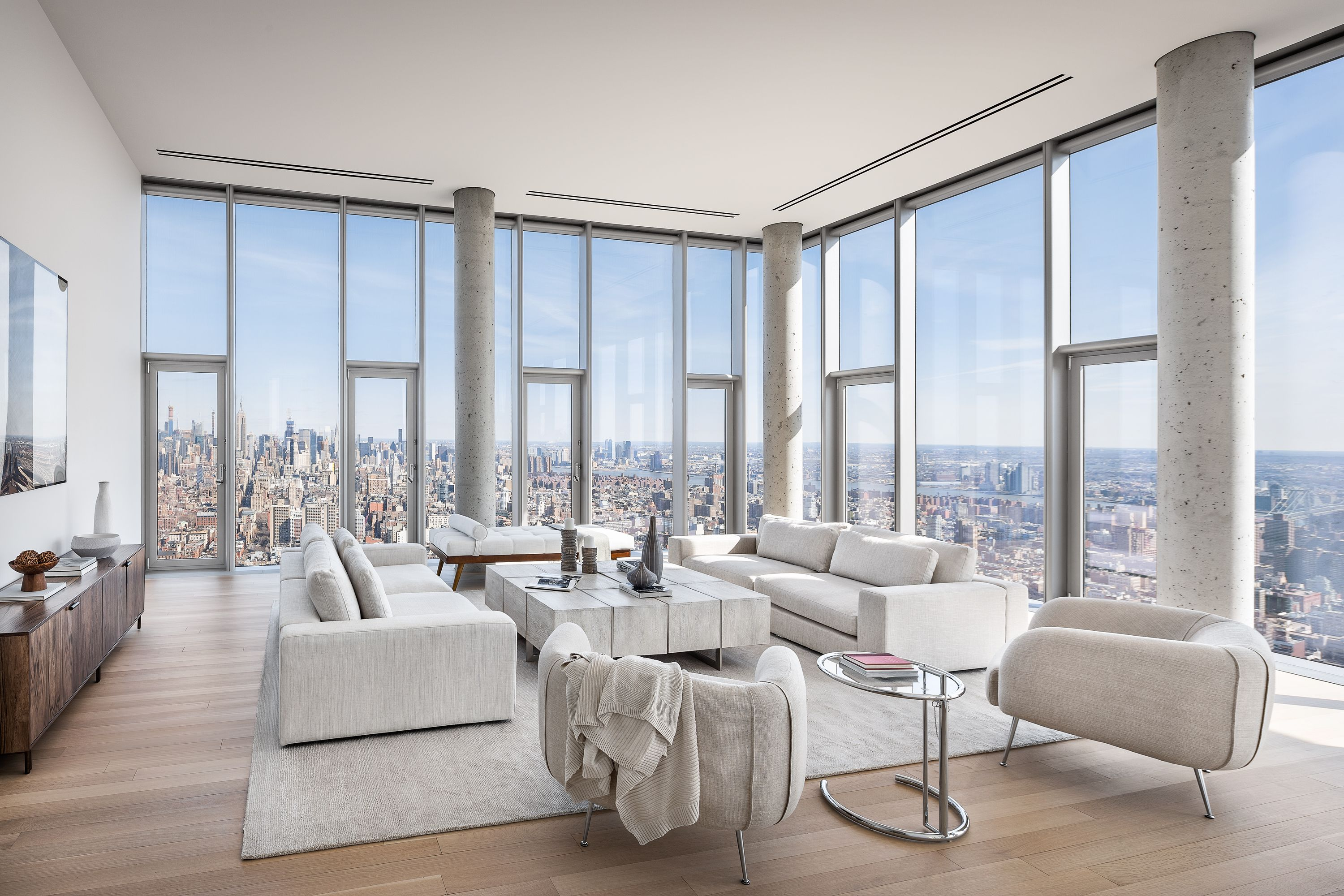 First Look The Penthouse At 56 Leonard Is Tribeca S Crown Jewel