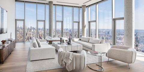 Interior design, Living room, Property, Building, Room, Furniture, House, Architecture, Real estate, Floor,