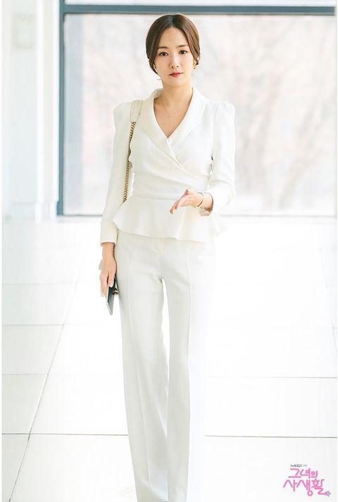 《她的私生活》朴敏英:上班西裝穿搭技巧