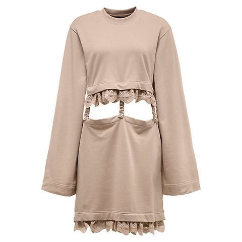 Sleeve, Textile, Fashion, Grey, Beige, Khaki, Costume, Fashion design, Day dress, One-piece garment,