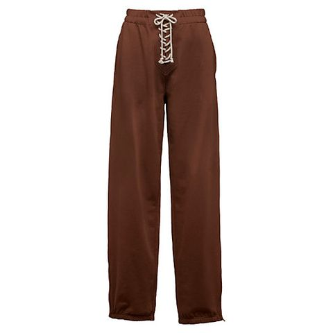 Clothing, Brown, Trousers, Active pants, Maroon, Pocket, Sportswear, sweatpant, Waist,