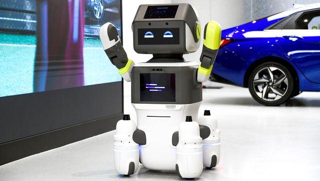 hyundai motor group dal e ai powered robot
