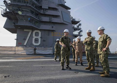Rear Admiral Epps Visit
