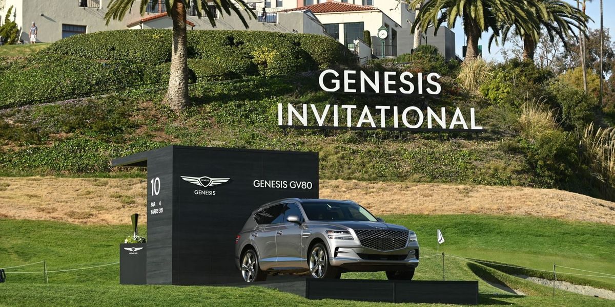 Tiger Woods Car Crash Was in a Genesis GV80