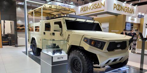 kia vehiculos militares